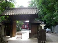 願行寺山門