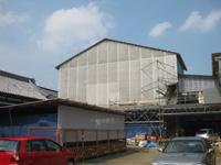 建設中の清林寺三重塔