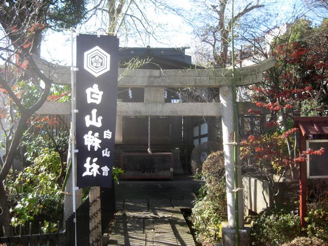 文京区 白山神社(はくさんじんじゃ)