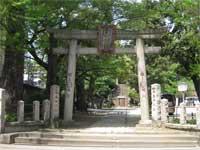 駒込富士神社鳥居