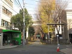 駒込天祖神社鳥居