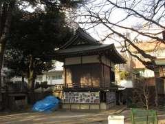駒込天祖神社神楽殿