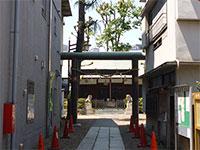 小石川諏訪神社鳥居