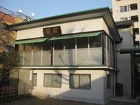 小石川諏訪神社舞殿