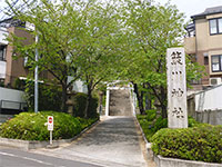 簸川神社鳥居