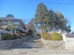東陽寺参道