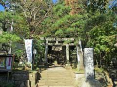 竹内神社鳥居
