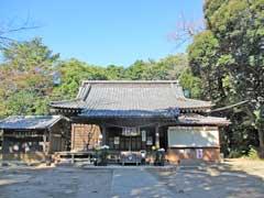 竹内神社社殿