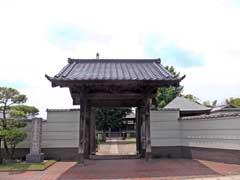 本満寺山門
