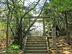 神明社鳥居