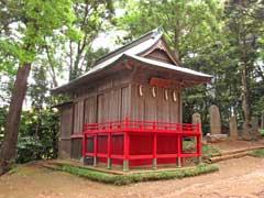 八劔神社神楽殿