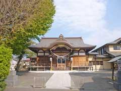 子守神社拝殿