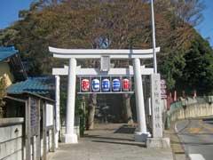 検見川神社鳥居