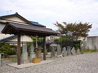 秋葉神社石塔群