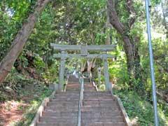 白幡神社鳥居