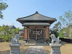 神明神社社殿