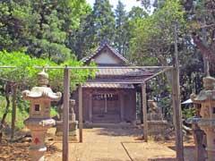 御霊神社社殿
