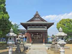 椎名神社拝殿