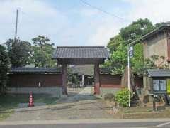 大覺院山門