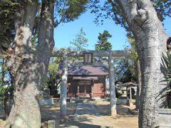 東中山羽黒神社鳥居