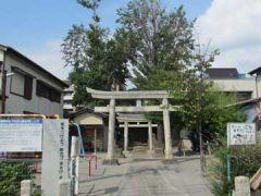 海神稲荷神社鳥居