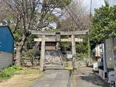 葛飾神社鳥居