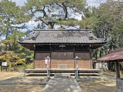 葛飾神社社殿