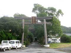 姉崎神社一鳥居