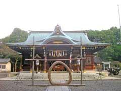 姉崎神社社殿