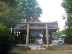 姉崎神社随身門