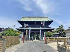 法華経寺山門