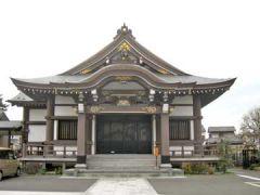 法伝寺本堂