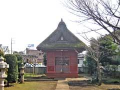 稲荷神社神楽殿