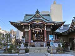 柏神社社殿