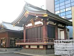 柏神社神楽殿
