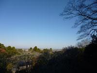 香取神宮香雲閣からの景色