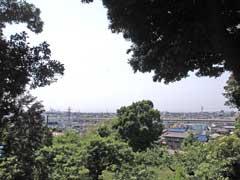祥雲寺からの風景