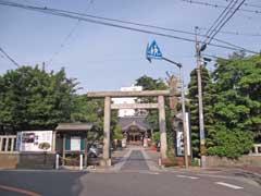 八劔八幡神社鳥居