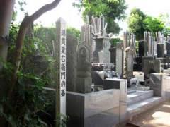 慶林寺綿貫右衛門墓