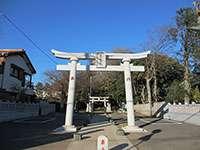 誉田八幡神社鳥居