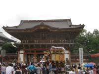 新勝寺惣門