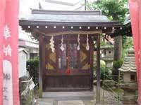 平河稲荷神社社殿