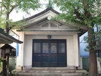 金山神社拝殿