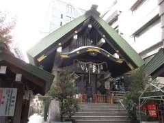 築土神社拝殿