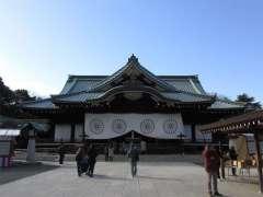 靖国神社拝殿