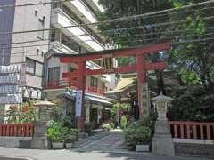 三崎稲荷神社鳥居