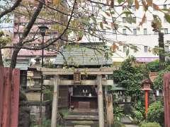 柳森神社鳥居