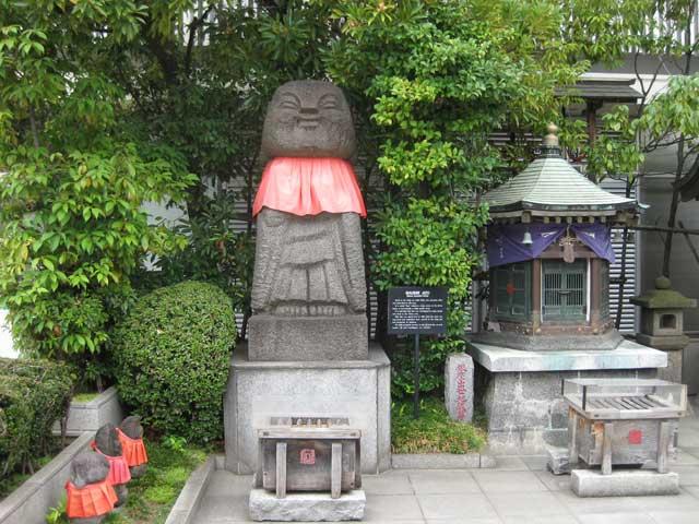 銀座出世地蔵尊と三囲神社銀座摂...