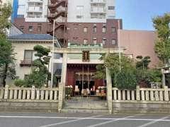 笠間稲荷神社東京別社鳥居