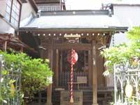 三光稲荷神社拝殿